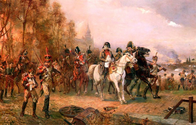 Hillingford_-_Napoleon_with_His_Troops_at_the_Battle_of_Borodino,_1812