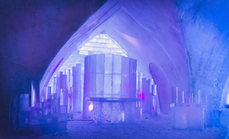Ice Chapel 2018 | Courtesy of Hôtel de Glace