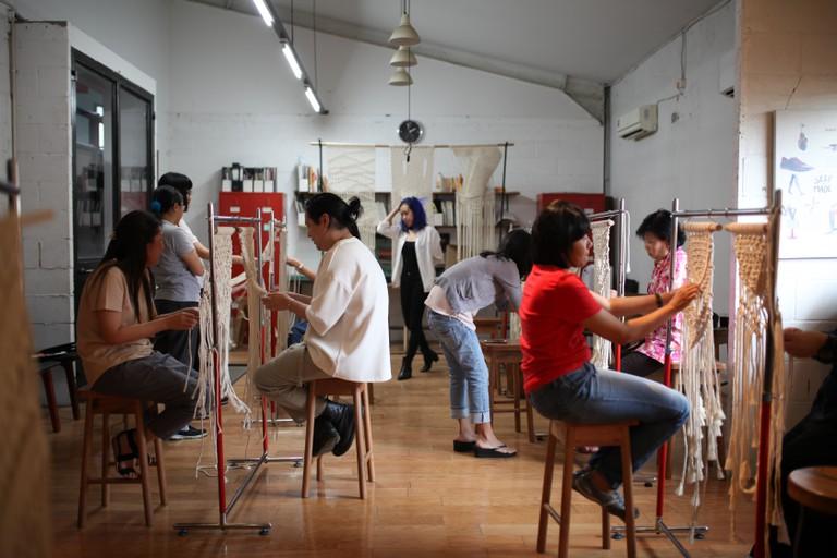 Indoestri Macrame 101 - Wall Hanging Making