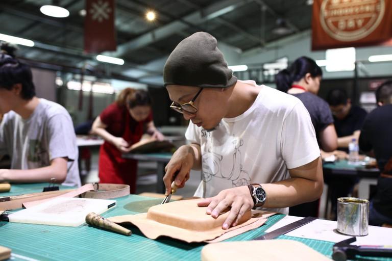 Indoestri Satchel Bag Making Workshop