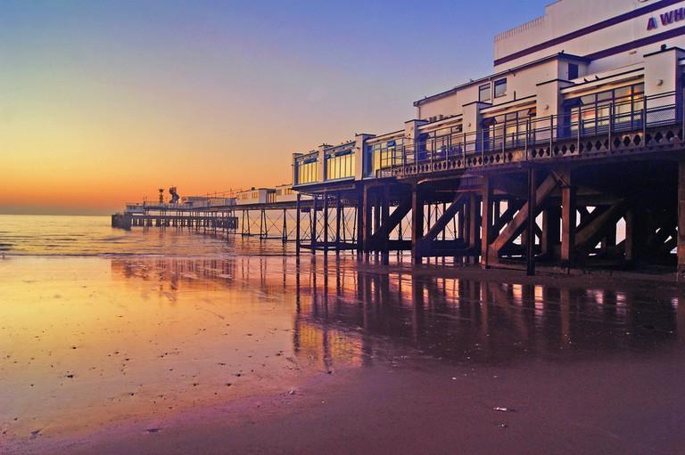 isle of wight sandown pier simon harrod