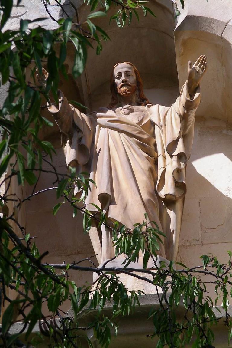 https://commons.wikimedia.org/wiki/File:Jesus_in_Rennes_le_Chateau.jpg