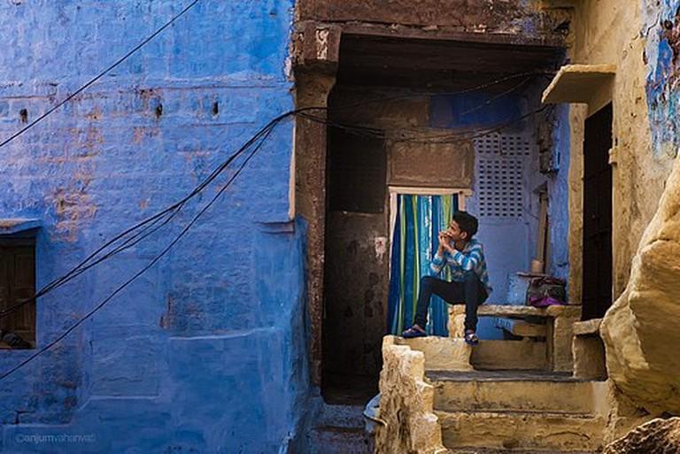 "Jodhpur, India | <a href=""https://commons.wikimedia.org/wiki/File:Jodhpur_-_India_(13983613492).jpg"" target=""_blank"" rel=""noopener"">© A Vahanvati/WikiCommons</a>"