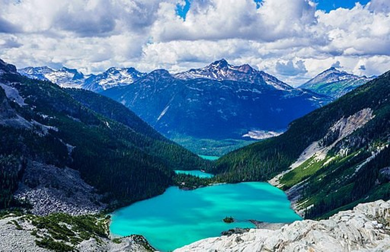 """Joffre Lakes, Canada