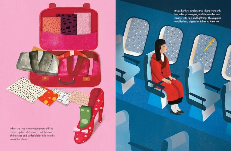 Illustration for Yayoi Kusama: From Here to Infinity © 2017 Ellen Weinstein