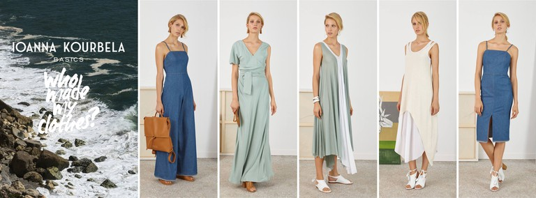 Looks from the Ioanna Kourbela basics line | Courtesy of Ioanna Oslo