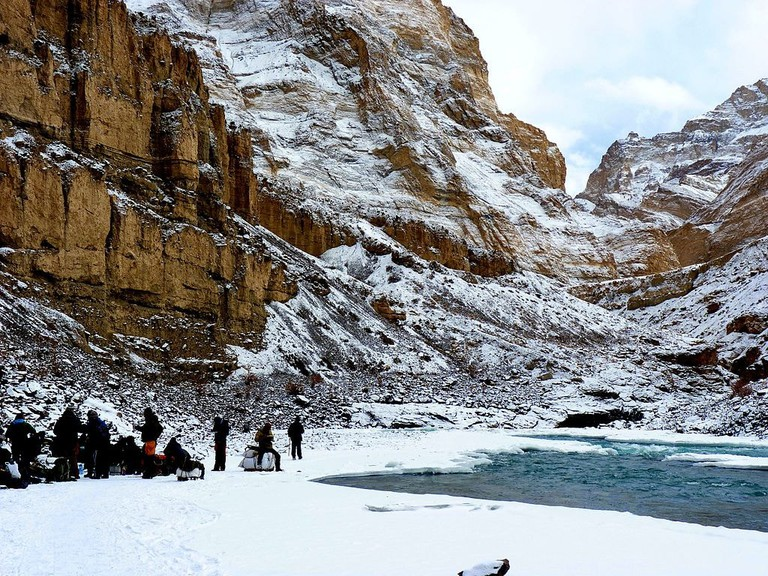 Lunch_break_during_chadar_trek