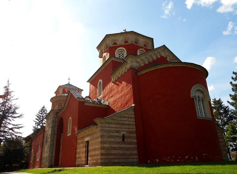 Žiča's magnificent monastery | © WikiMedia Commons