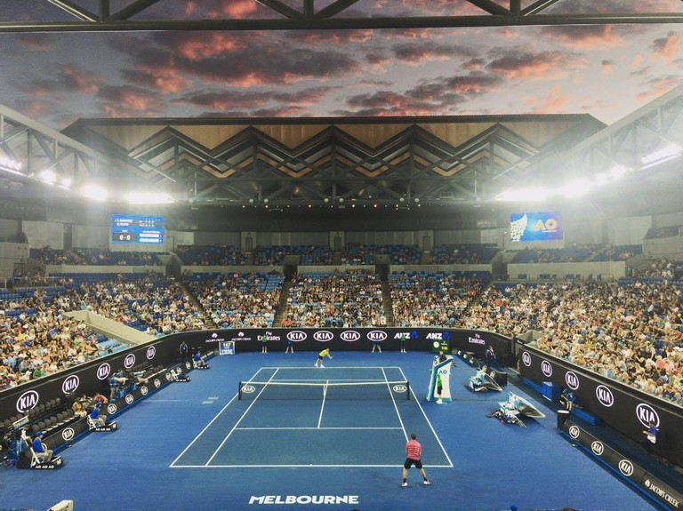"""The Margaret Court Arena at Melbourne Park 