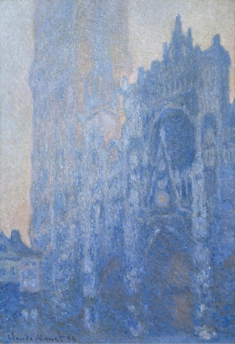 Claude Monet, 'Le Portail et la tour d'Albane à l'aube', 1893–1894 | © Museum of Fine Arts, Boston, Tompkins Collection – Arthur Gordon Tompkins Fund