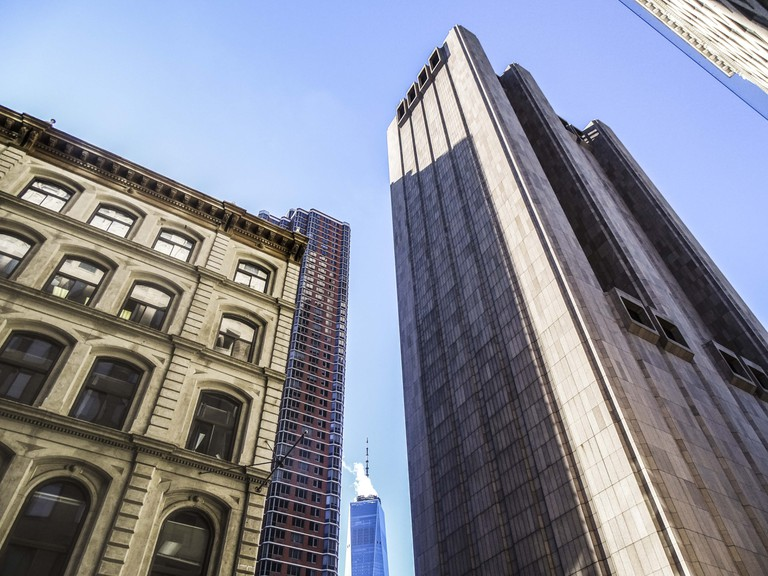 The building with One World Trade Center in the distance | © Amanda Suarez/Culture Trip