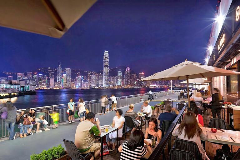 Ocean Terminal Deck Hong Kong restaurants