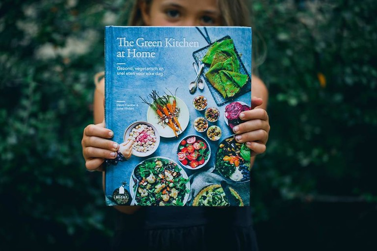 One of the Greek Kitchen books | Courtesy of Green Kitchen Stories