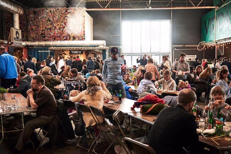 Oslo's new food court | © Per Sollerman, Courtesy of Vippa Oslo