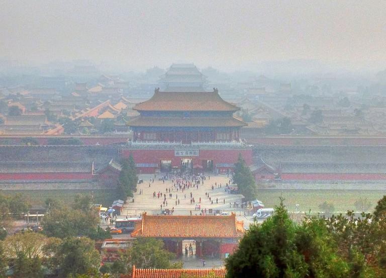 Pollution smog China Xian Beijing air purifier