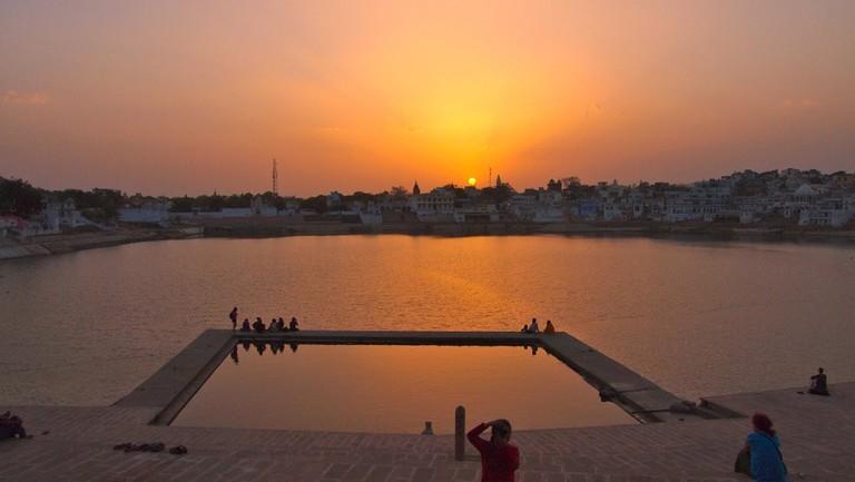 Pushkar Lake, Pushkar