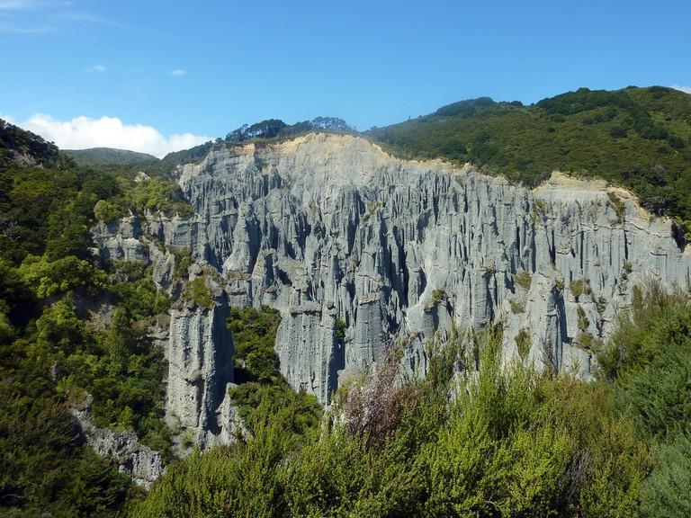 Putangirua Pinnacles, Aorangi National Park