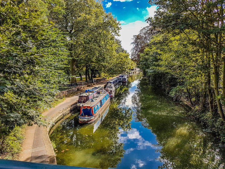 Regent's Canal at Victoria Park