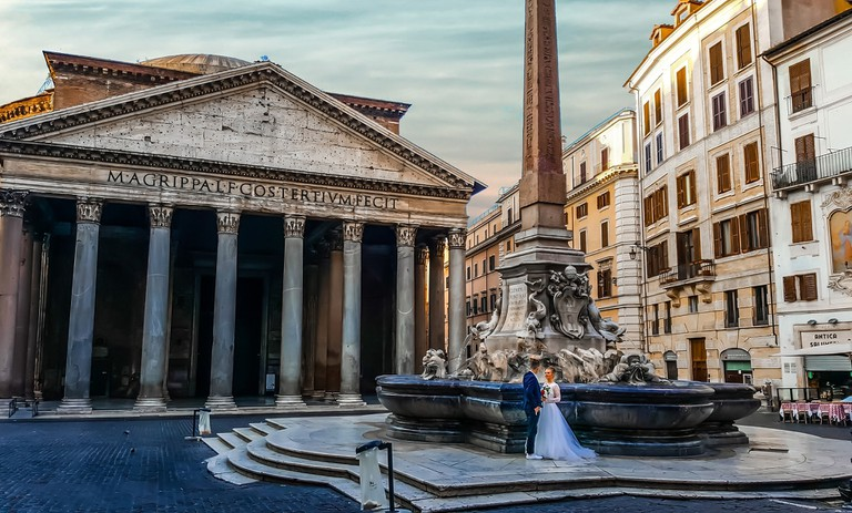 A wedding shoot in the Italian capital | © kirkandmimi/Pixabay
