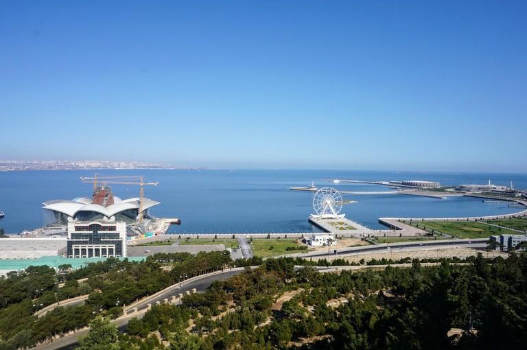 View of the Caspian Sea   © Sam Bedford
