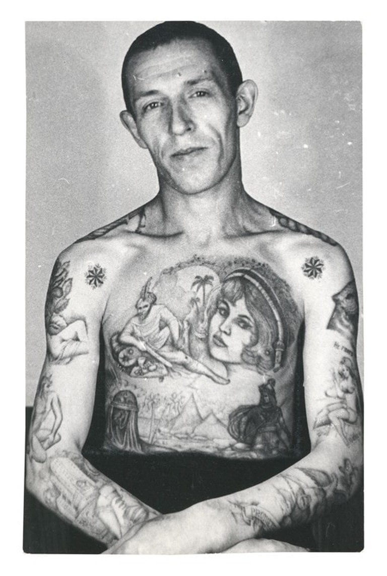 Russian Prison tattoo 7