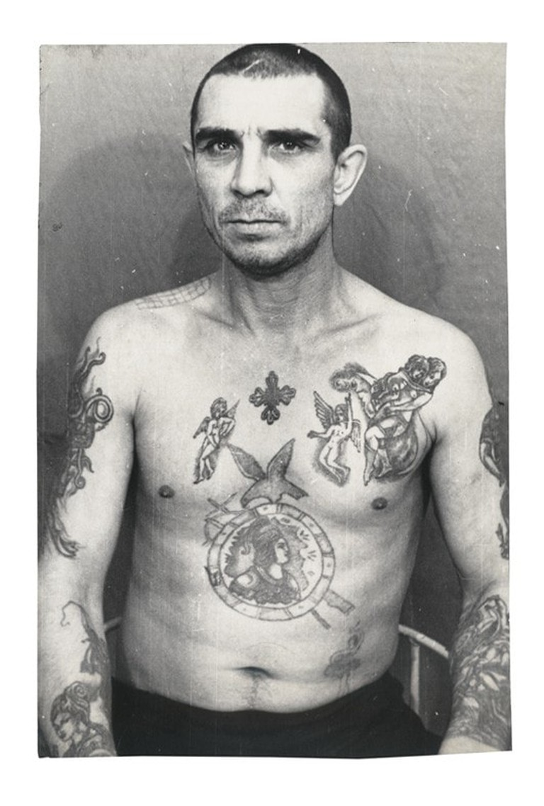Courtesy of Russian Criminal Tattoo Police Files Vol 1, published by FUEL