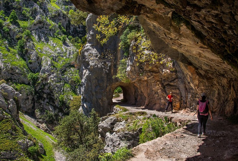 Hiking in the Picos de Europa National Park, Spain