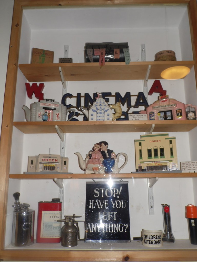 Assorted picturehouse memorabilia at the Cinema Museum   © Lynsey Ford/Culture Trip