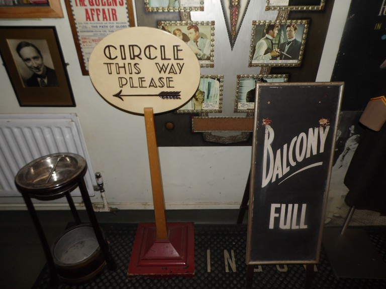 Assorted picturehouse and print memorabilia at the Cinema Museum   © Lynsey Ford/Culture Trip