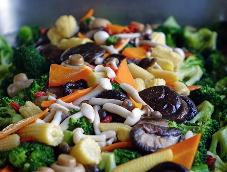 Mushroom Salad | © pxhere