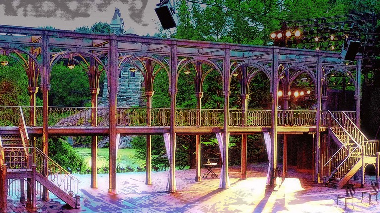 Shakespeare in the Park in Central Park | Kathleen Maher Flickr