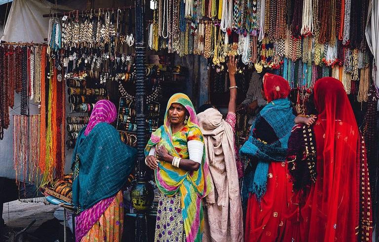 Shopping Pushkar