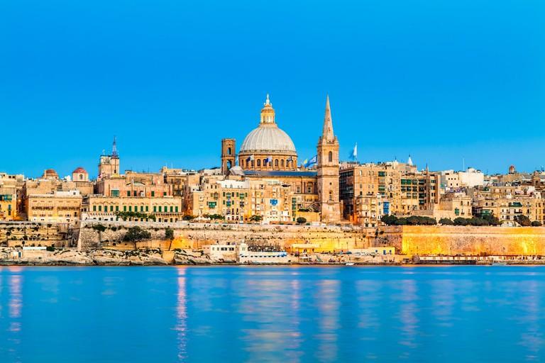 Valletta Skyline, Malta | © INTERPIXELS/Shutterstock