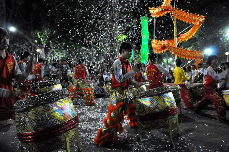 Drums are part of Tet   © salajean/Shutterstock