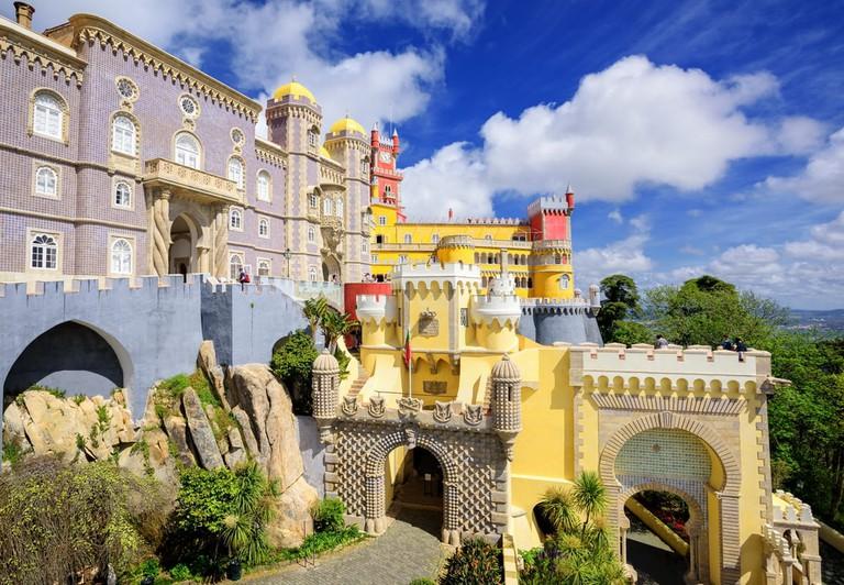 Pena palace, Sintra, Portugal | © Boris Stroujko/Shutterstock