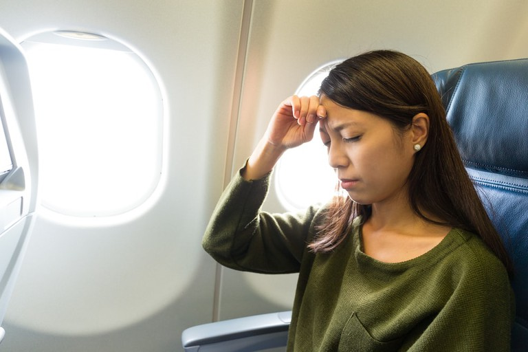 Who knows who sat in the plane seat before you? |© leungchopan/Shutterstock