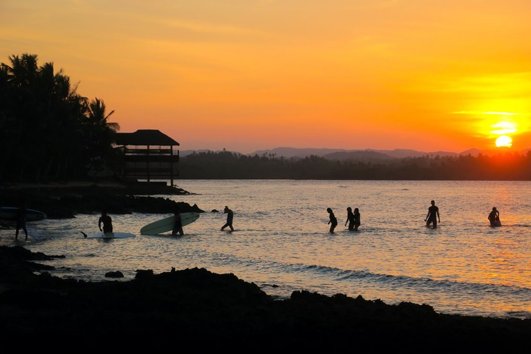 Sunset in Siargao