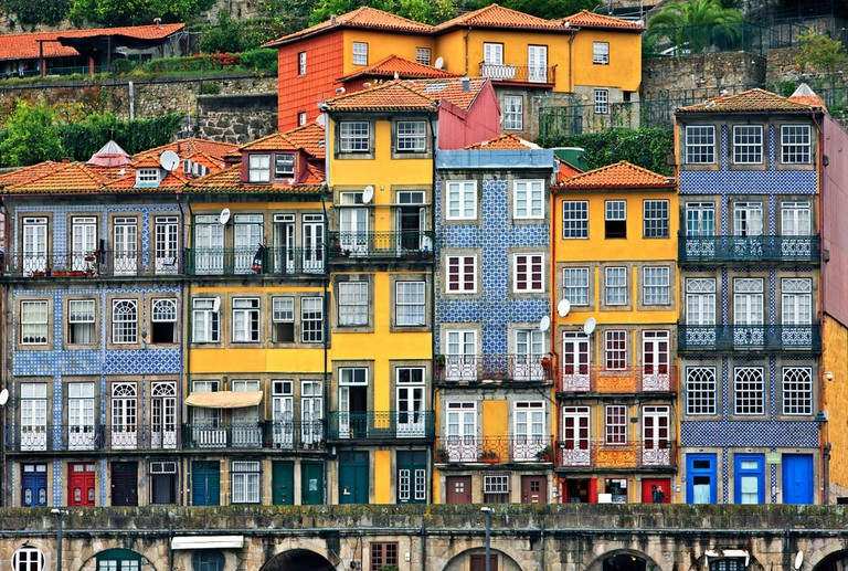 Facades at the Ribeira, Porto, Portugal | © Heracles Kritikos/Shutterstock
