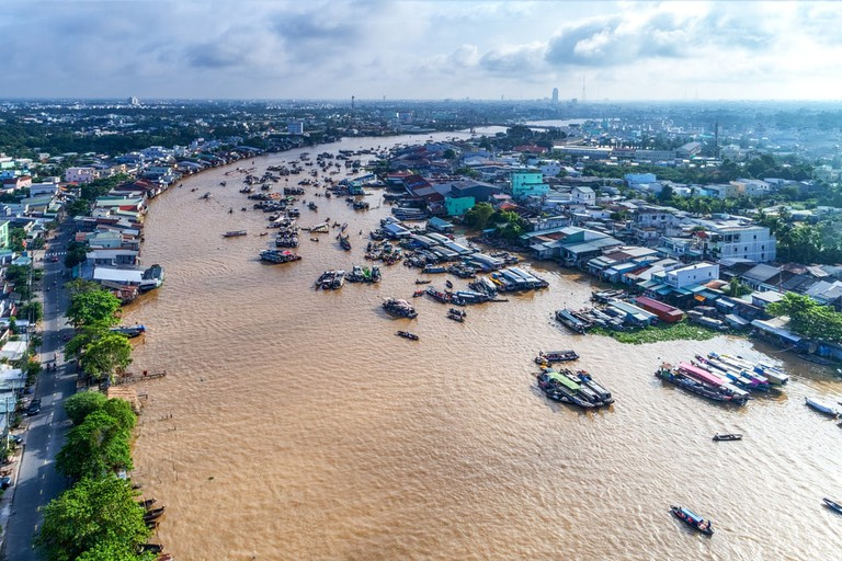 Cai Rang floating market in Can Tho | © Tonkinphotography/Shutterstock