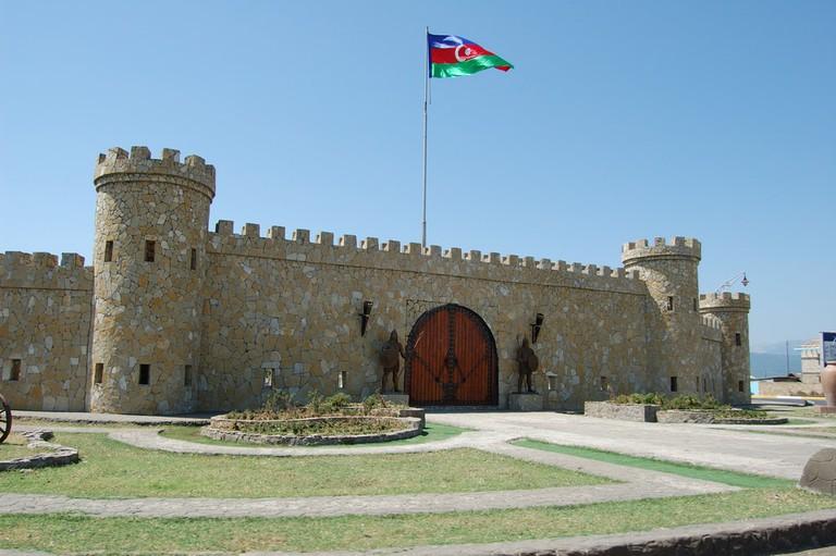Lankaran city entrance gate, Azerbaijan © Nort/Shutterstock