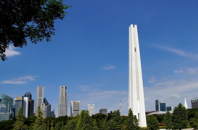 Singapore Civilian War Memorial BernardSpragg