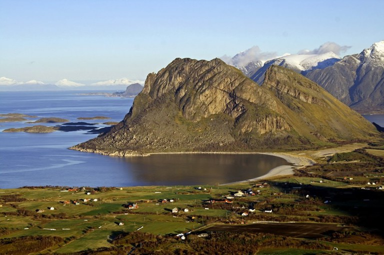 Steigen is a place rich in history -- one of the 6,000 old remains where discovered here   © Aasmund Gylseth, Courtesy of Steigen Kommune
