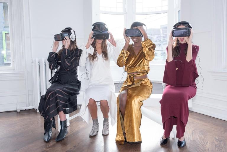 Sid Neigum VR presentation at RE\SET™ 2016   Kalen Hayman
