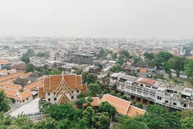 THAILAND-BANGKOK-WAT-SAKET-16