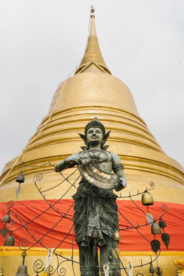 THAILAND-BANGKOK-WAT-SAKET-19