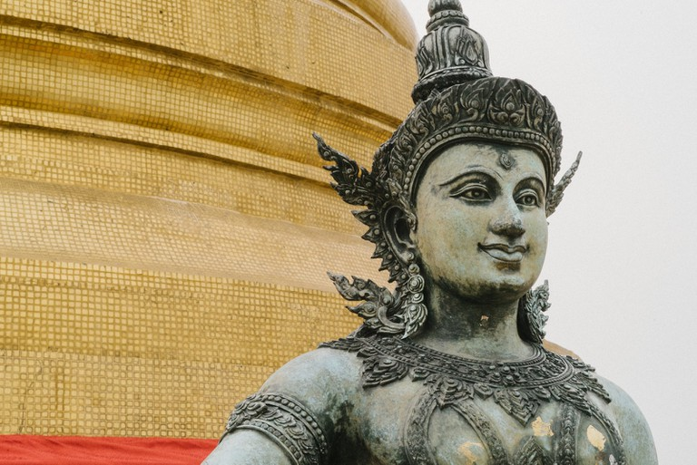 THAILAND-BANGKOK-WAT-SAKET-8