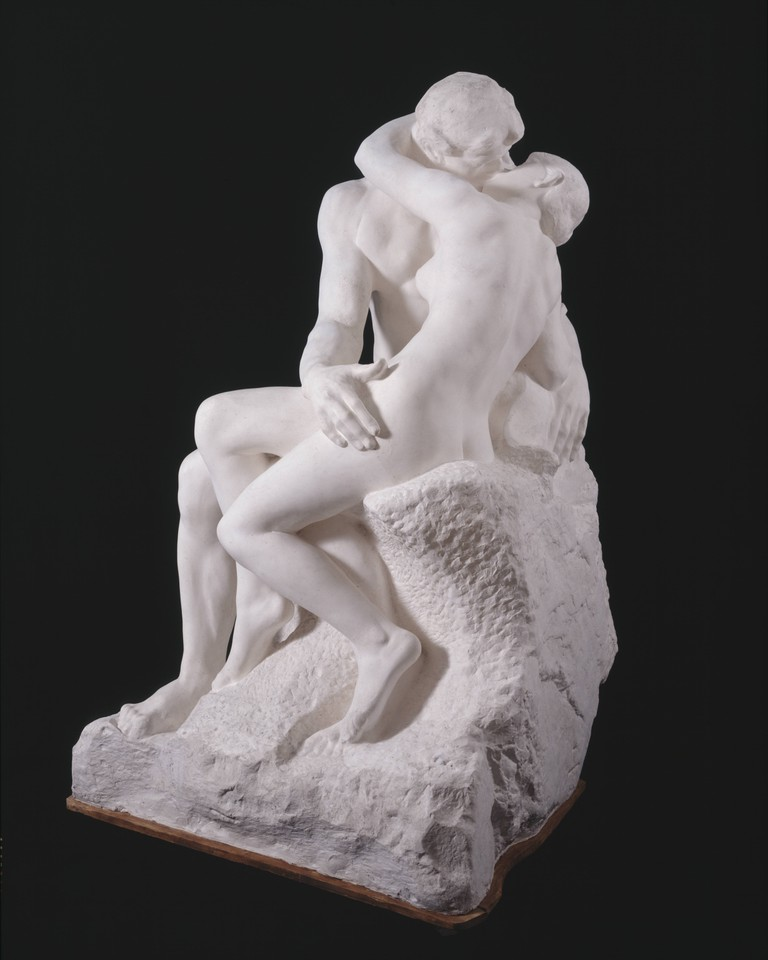 Auguste Rodin, large version of 'The Kiss', after 1898 | © Musée Rodin