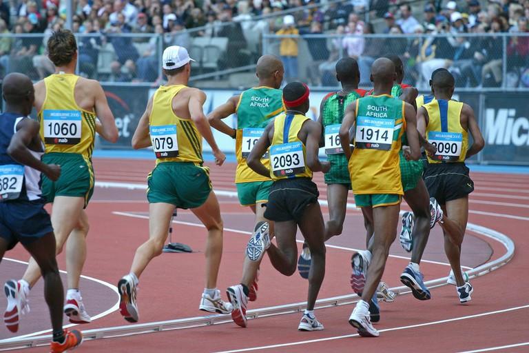 The Melbourne 2006 Commonwealth Games marathon | © Jimmy Harris/Flickr