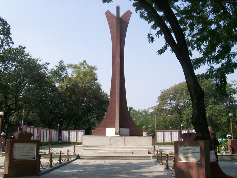 The National War Memorial Southern Command in Pune Cantonment