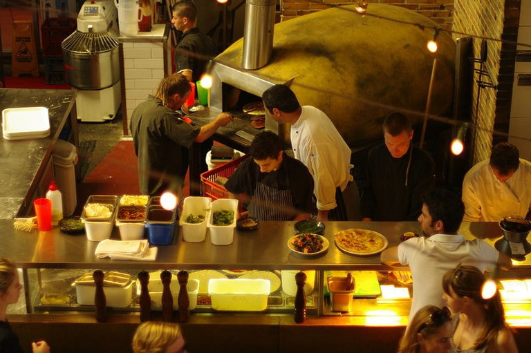 The pizza kitchen at the Little Creatures Brewery | © Gnangarra/Wikimedia Commons